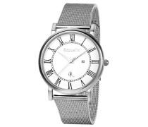 Herren-Armbanduhr XL Analog Quarz Edelstahl OR53770418
