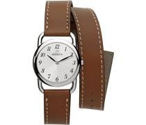 Michel Herbelin Damen-Armbanduhr 17477/28GOL Damen-Armband, Leder, Farbe: braun
