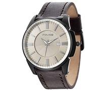 Police Herren-Armbanduhr Analog Quarz P14384JSB-19
