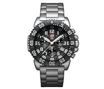 Navy SEAL Steel Colormark Herren-Armbanduhr Chronograph Quarz Edelstahl - XS.3182
