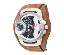 DETOMASO Herren-Armbanduhr STEPPENWOLF Analog Quarz DT-YG104-D