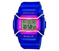 Baby-G – Damen-Armbanduhr mit Digital-Display und Resin-Armband – BGD-501FS-2ER