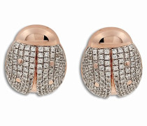 Damen-Ohrringe High-End Micro Pave Ohrstecker Silber ZO-5831