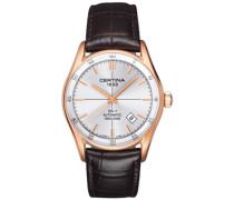 Certina Herren-Armbanduhr XL Analog Automatik Leder C006.407.36.031.00