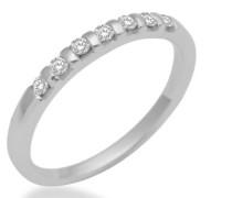 Damen-Ring Sterling-Silber 925 Diamant 54 (17.2) MCS07AO