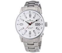 Herren-Armbanduhr XL Analog Quarz Edelstahl 5412602