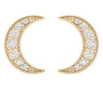 -  18 k (750)  Gelbgold Rundschliff   weiß Diamant