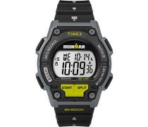 TW5M13800 Herren-Armbanduhr mit Quarz-Uhrwerk, Digitalanzeige und Kunstharz-Uhrenband.