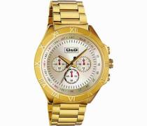 Herren-Armbanduhr PAMPELONNE CHR IPG LIGHT GOLD DIAL IPG BRC DW0432