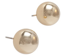 Classics-Gold Kristall Ohrringe