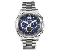 Herren-Armbanduhr Dress Analog Quarz Edelstahl 96B219