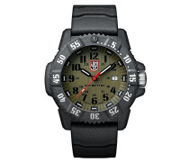 Carbon SEAL Herren-Armbanduhr Analog Quarz Kautschuk - XS.3813