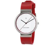 Herren-Armbanduhr Analog Quarz Kautschuk 32756