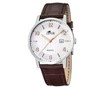 Herren-Armbanduhr Analog Quarz Leder 15620/3