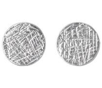 Jewelry Damen-Ohrstecker Messing Ear post 1.0 cm  versilbert 281346043