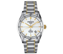Certina Herren-Armbanduhr XL Analog Automatik Edelstahl C006.407.22.031.00