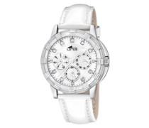 Damen-Armbanduhr Analog Leder 15746/1