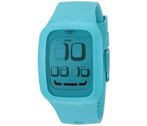 Swatch Unisex-Armbanduhr Analog Plastik SURS100