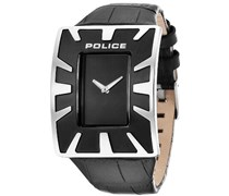 Police Herren-Armbanduhr Analog Quarz Leder PL.14006JS/02