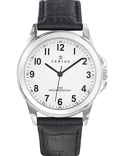 Herren-Armbanduhr Analog Quarz Schwarz 610743