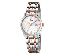 Damen-Armbanduhr Analog Quarz Leder 18180/2