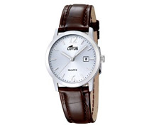 Lotus Damen-Armbanduhr Analog Quarz Leder 18240/3
