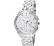 ! Damen-Armbanduhr XL Legend Chrono Chronograph Quarz Edelstahl JP101071F01