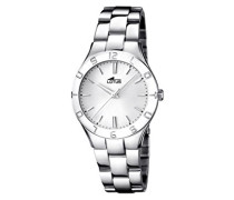 Lotus Damen-Armbanduhr XS Analog Quarz Edelstahl 15895/1