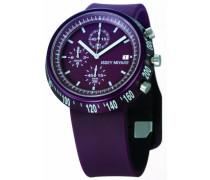 Unisex-Armbanduhr Chronograph violett IM-SILAT006
