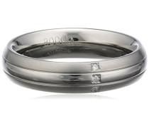Boccia Damen-Ring Titan Diamant weiß, Gr. 50 (15.9) - 0131-0350