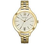 Caravelle New York Damen-Armbanduhr Analog Quarz Edelstahl 44L127