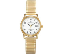 Damen-Armbanduhr Analog Quarz Metall 630714