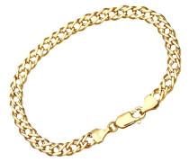 Damen-Gliederarmband 375 Gelbgold 7.5 19 cm
