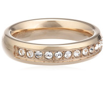 Damen-Ring Vergoldetes Metall Kristall Swarovski 336194