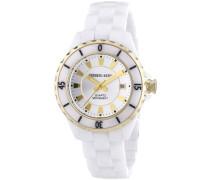 Damen-Armbanduhr XS Oceamica Analog Quarz Keramik TF 10172