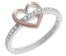 Damen-Ringe zirkonia- Ringgröße 58 (18.5) ZR-7286/58
