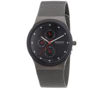 Time Herren-Armbanduhr Slim Ceramic Analog Quarz 32139-309