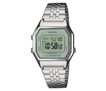 Collection – Damen-Armbanduhr mit Digital-Display und Edelstahlarmband – LA680WEA-7EF