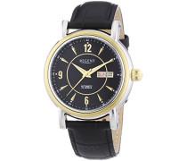 Herren-Armbanduhr XL Analog Automatik Leder 11050080