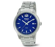 Herren-Armbanduhr XL Analog Quarz Titan 3581-02