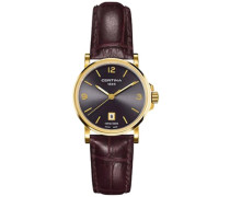 Certina Damen-Armbanduhr XS Analog Quarz Leder C017.210.36.087.00