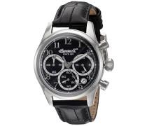 Ingersoll Damen-Armbanduhr Chronograph Quarz INQ042BKSL