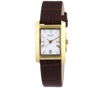 Damen-Armbanduhr Analog Quarz Leder 12100524