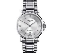 Certina Herren-Armbanduhr XL Analog Automatik Edelstahl C017.407.11.037.00