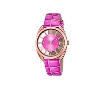 Lotus Damen-Armbanduhr Analog Quarz Leder 18226/1