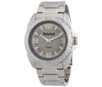 Timberland Herren-Armbanduhr XL Analog Quarz Edelstahl TBL.13850JS/61M
