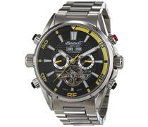 Ingersoll Herren-Armbanduhr Bison NO,49 Chronograph Automatik verschiedene Materialien IN1507BKYL