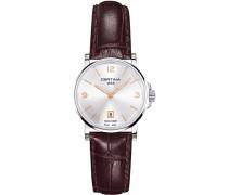 Certina Damen-Armbanduhr XS Analog Quarz Leder C017.210.16.037.01