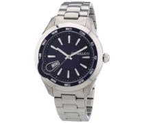 Morellato Herren-Armbanduhr XL ROMEO Analog Quarz Edelstahl R0153110001