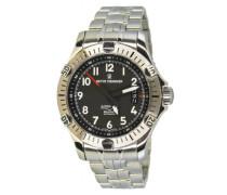 Herren-Armbanduhr XL Airspeed XLarge Analog Automatik Edelstahl 16070.2231